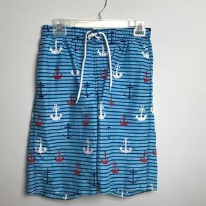 J. Khaki Swim Shorts. Size L